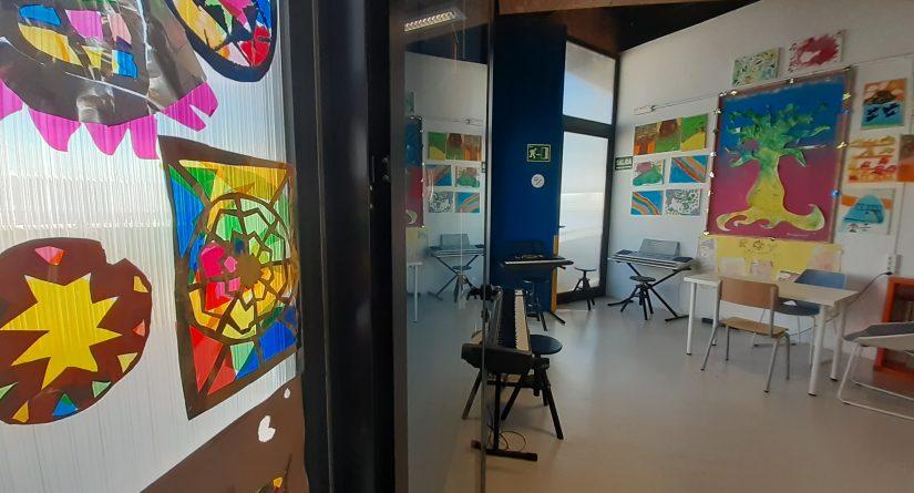 Aula de música de nuestro colegio bilingüe en Málaga
