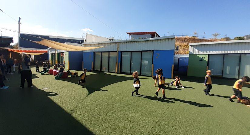 Patio exterior de Primaria en nuestro colegio bilingüe en Málaga