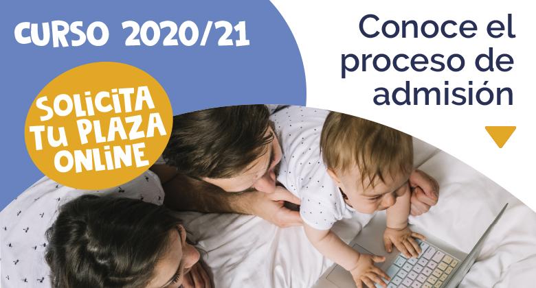 Proceso admisión curso 2020-2021