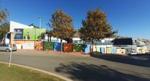 Vista exterior del colegio privado bilingüe